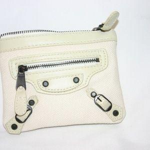 Balenciaga Bags - Balenciaga Paris Zippered Coin/ID  Wallet